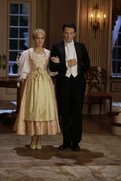 Stephen Moyer with Carrie Underwood in The Sound of Music
