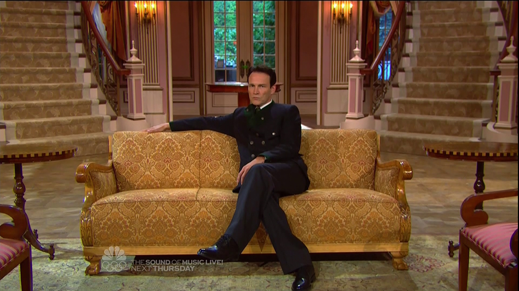 Stephen Moyer as Captain Von Trapp in the LIVE production of The Sound of Music