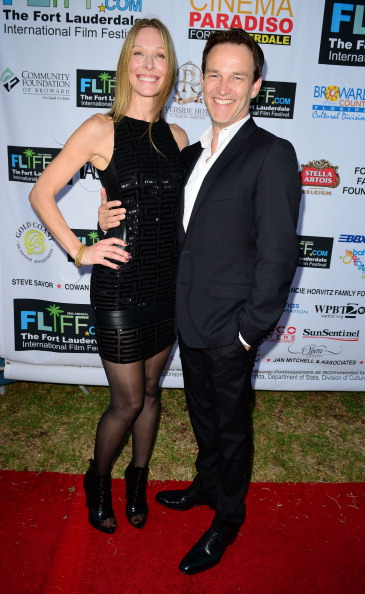 Stephen Moyer with Shana Betz at FLIFF October 18, 2013