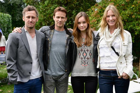 Mark Larkin, Stephen Moyer, Liana Liberato, and Shana Betz attend the 21st Annual Hamptons International Film Festival
