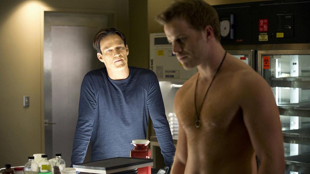 Stephen Moyer and Rob Kazinsky in True Blood Season 6, episode 5