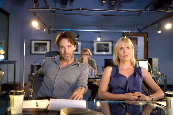 Stephen Moyer and Rahda Mitchell in Evidence