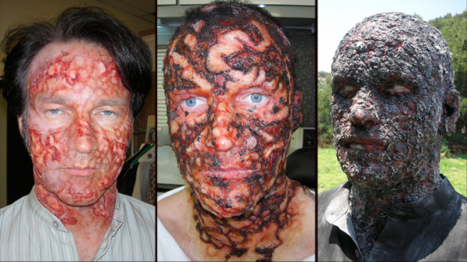 Stephen moyer behind the scenes of true blood mastersfx for When does a tattoo start peeling