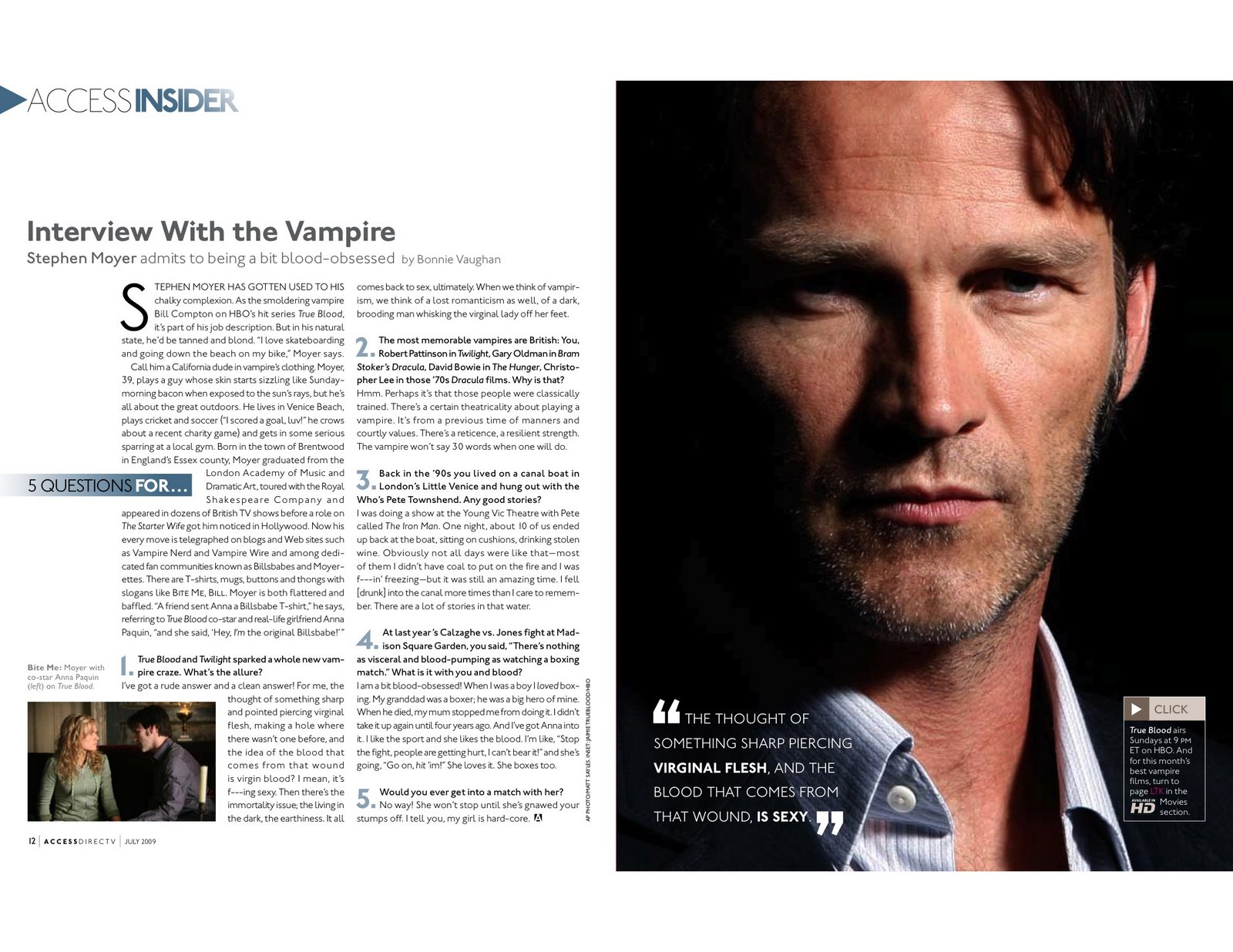 five questions for stephen moyer