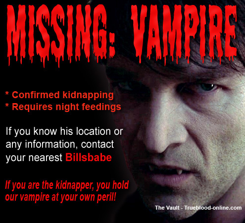 missing vampire
