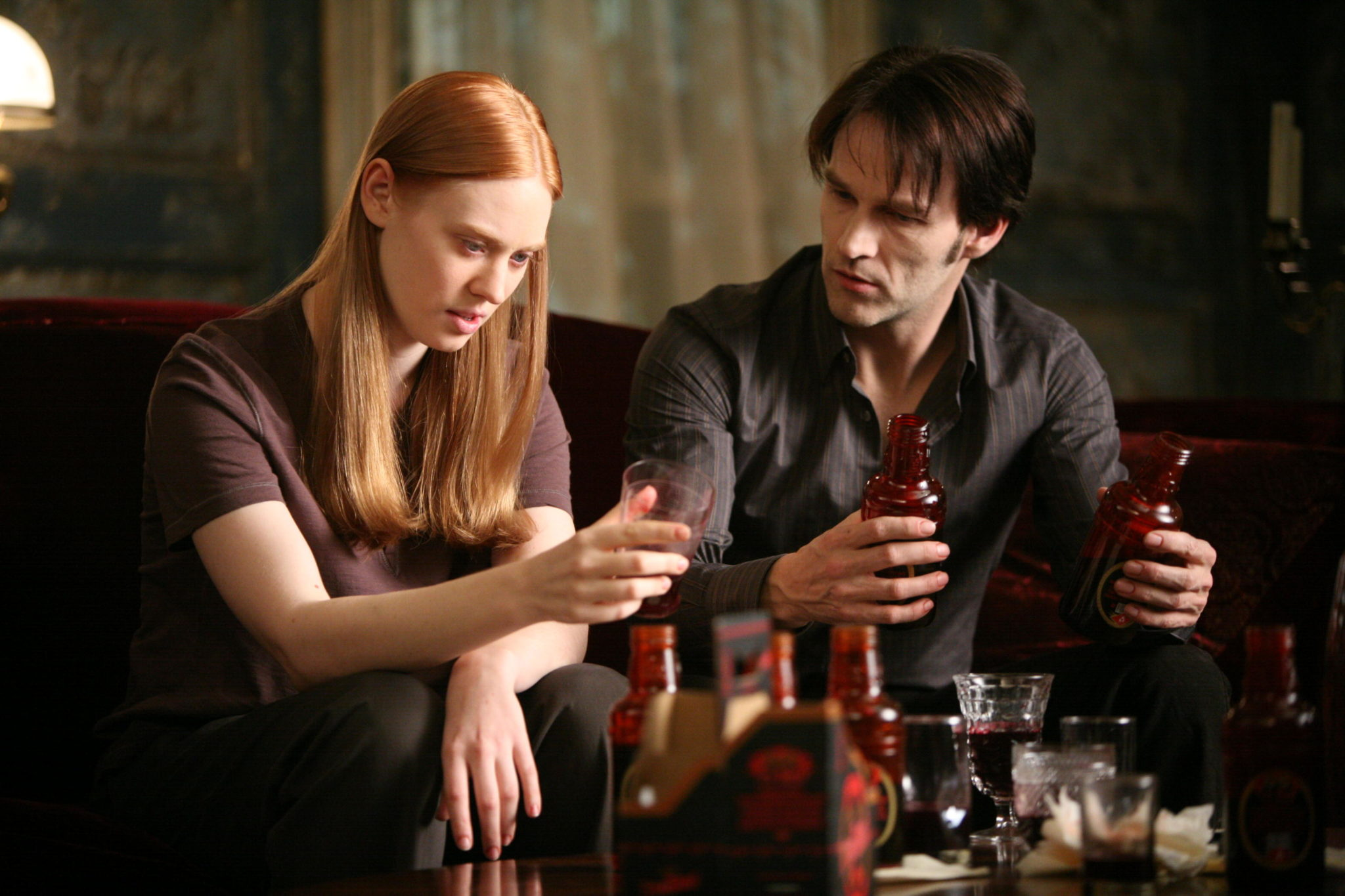 Bill helps Jessica adjust to life as a vampire