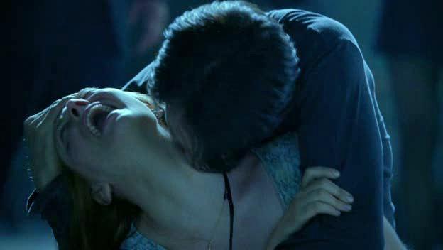 Bill turns Jessica into a vampire