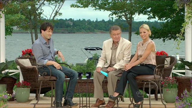 Stephen Moyer on Live With Regis & Kelly 2010