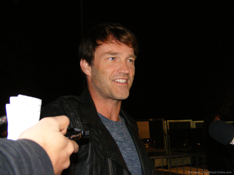 Press Experience at the Scream 2010 Awards with Stephen Moyer