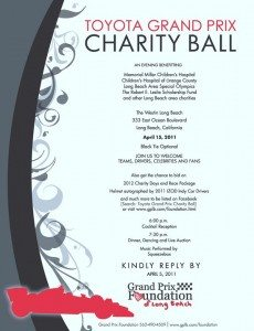 Toyota Grant Prix Charity Ball