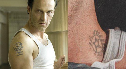 Viggo Mortensen Tattoo Nine