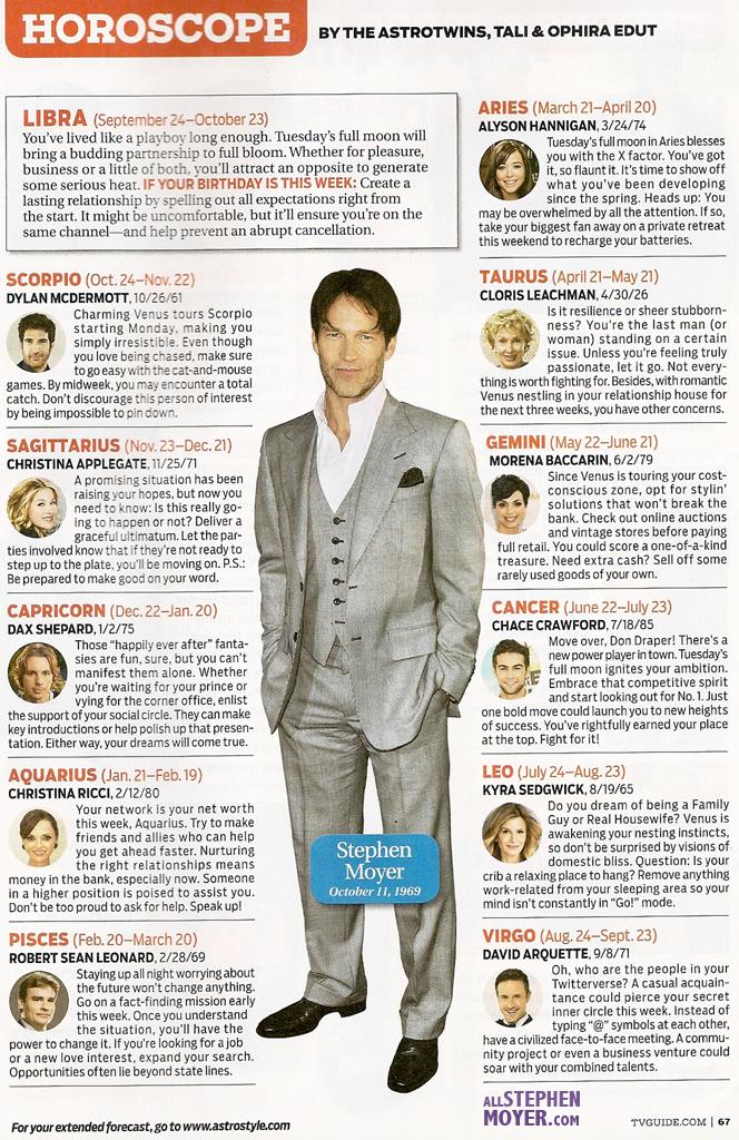TV Guide Horoscope