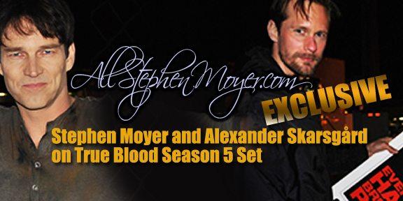 True Blood Season 5 set