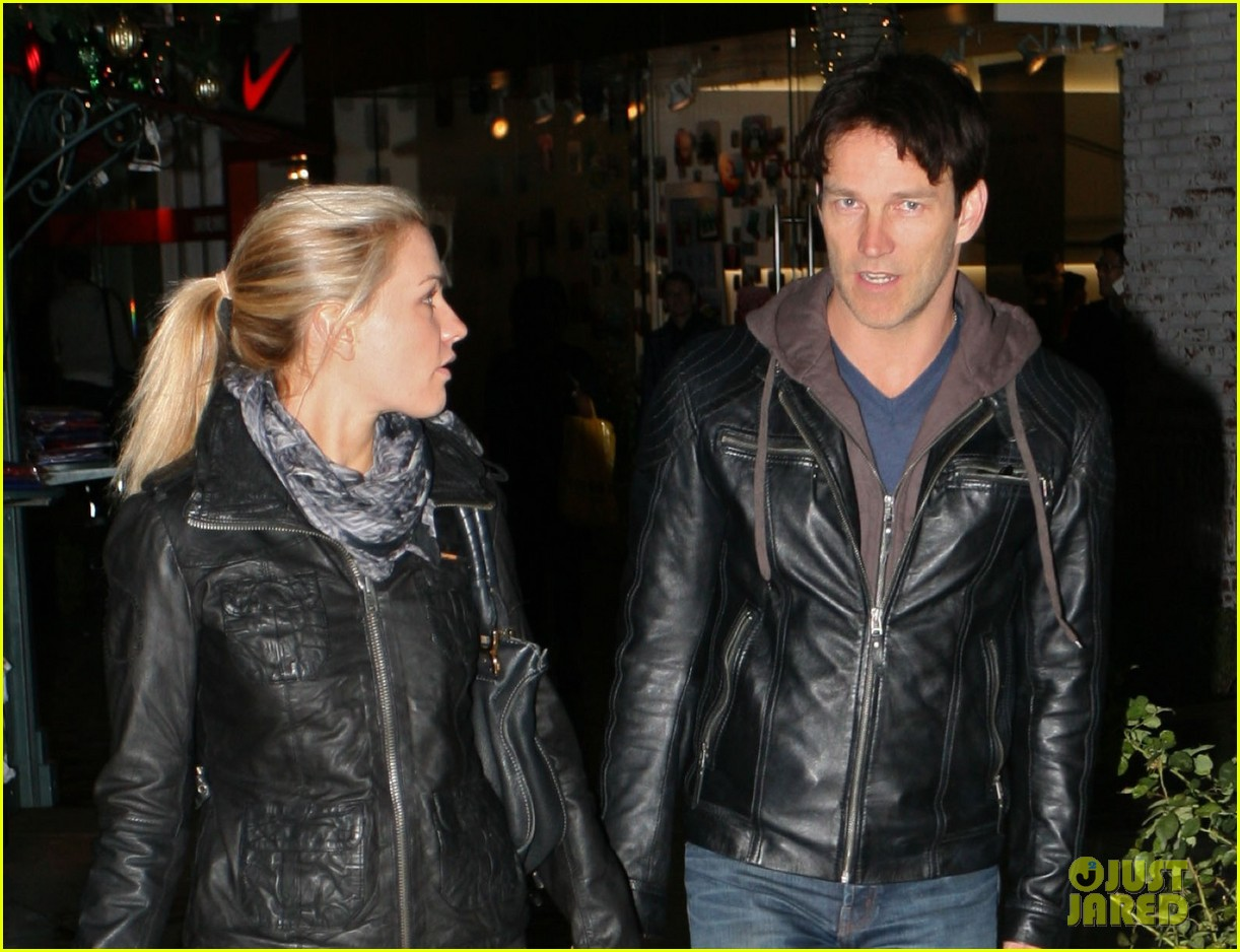 stephen moyer and anna paquin shop at the grove