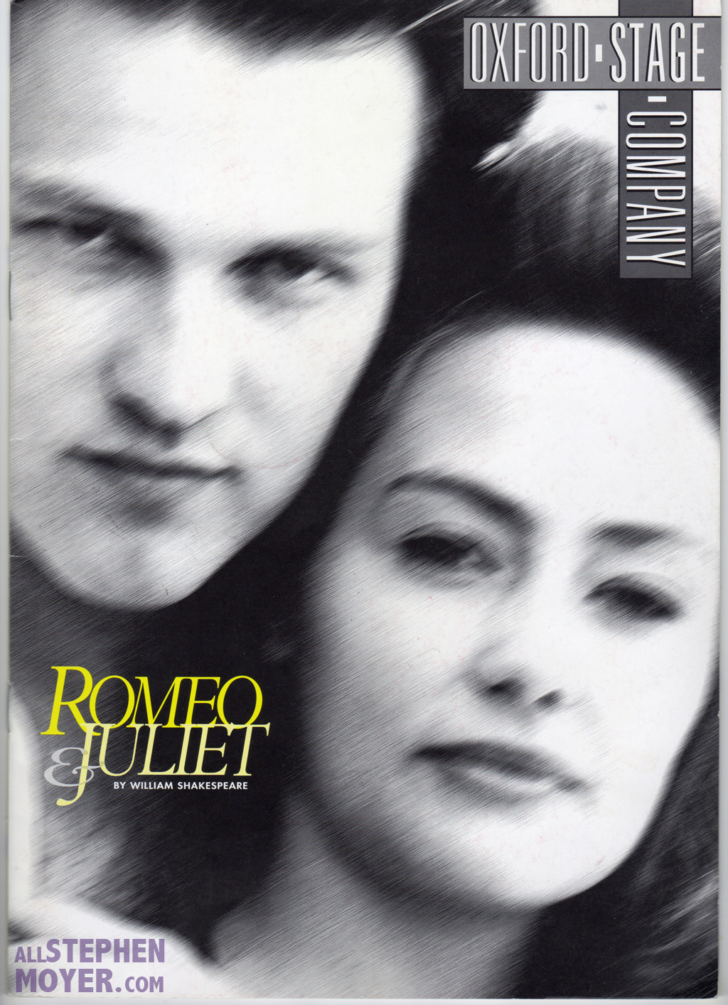 Romeo and Juliet Programme cover