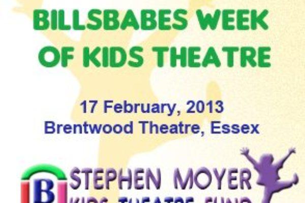 Billsbabes Week of Kids Theatre