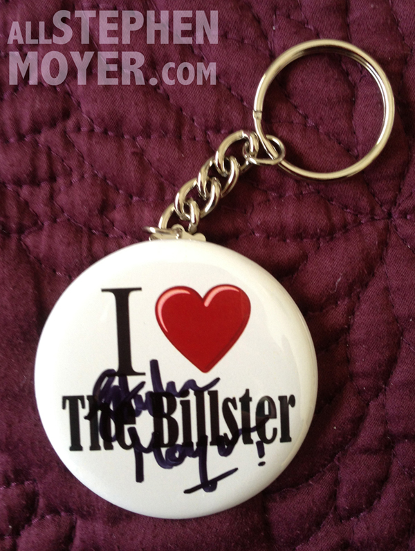 Keychain signed by Stephen Moyer