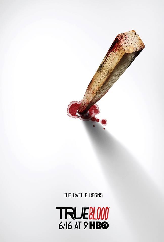True Blood Season 6 Poster - The Battle Begins