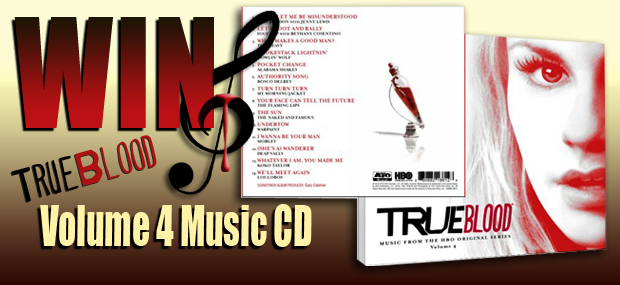 Win the True Blood Original Music CD Volume 4