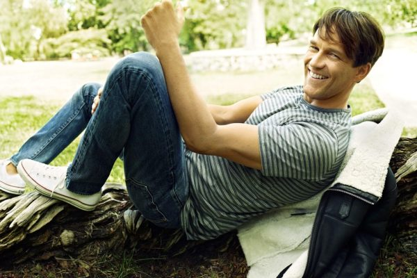 Stephen Moyer in UK Red Magazine