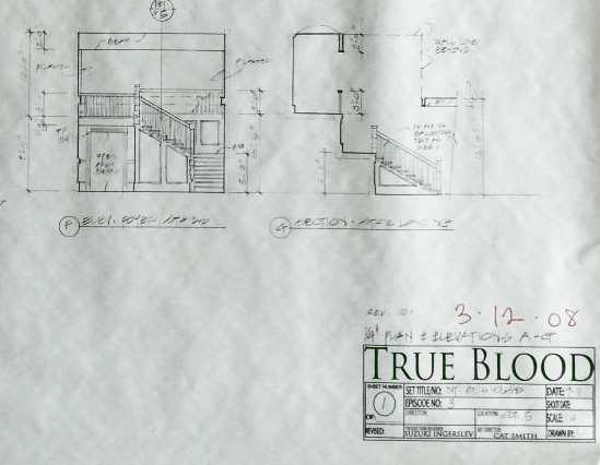 See the blueprints for bill compton 39 s house for How do i get the blueprints for my house