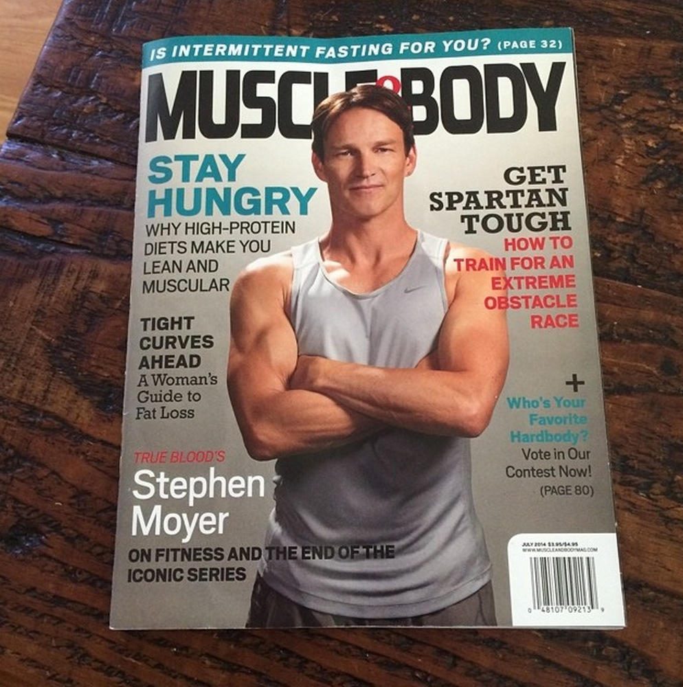 stephen moyer covers muscle body magazine stephen moyer on muscle and body