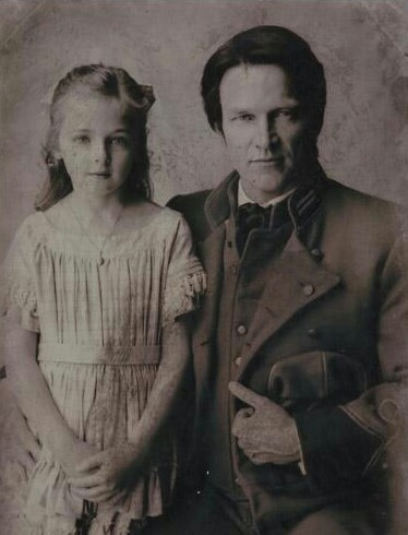bill and his daughter