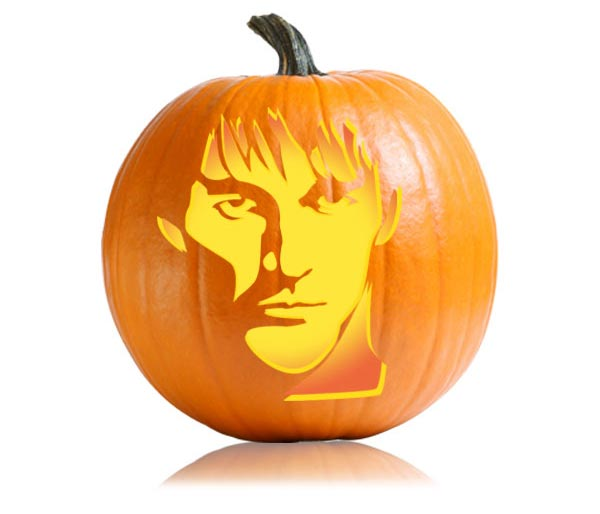 Bill Compton themed pumpkin