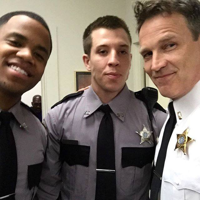 Officer Breeland and his boys