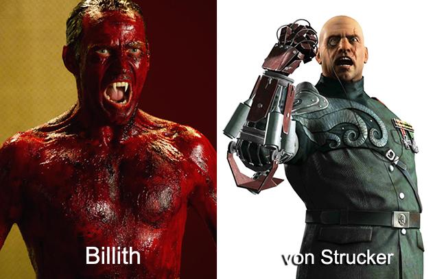 Billith and baron von strucker
