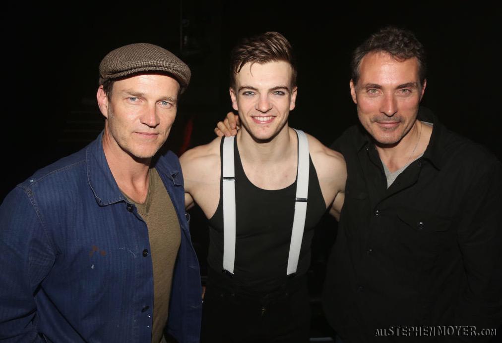 Stephen Moyer, Matt Doyle and Rufus Sewell