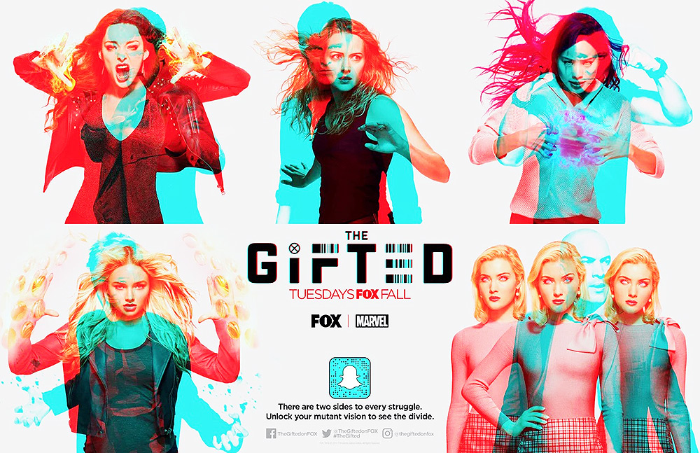 The Gifted - Cool new filters
