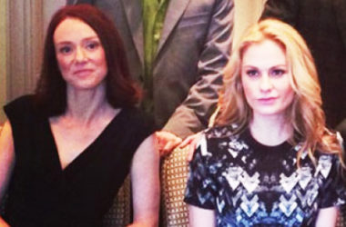 Anna Paquin and Cerise Larkin